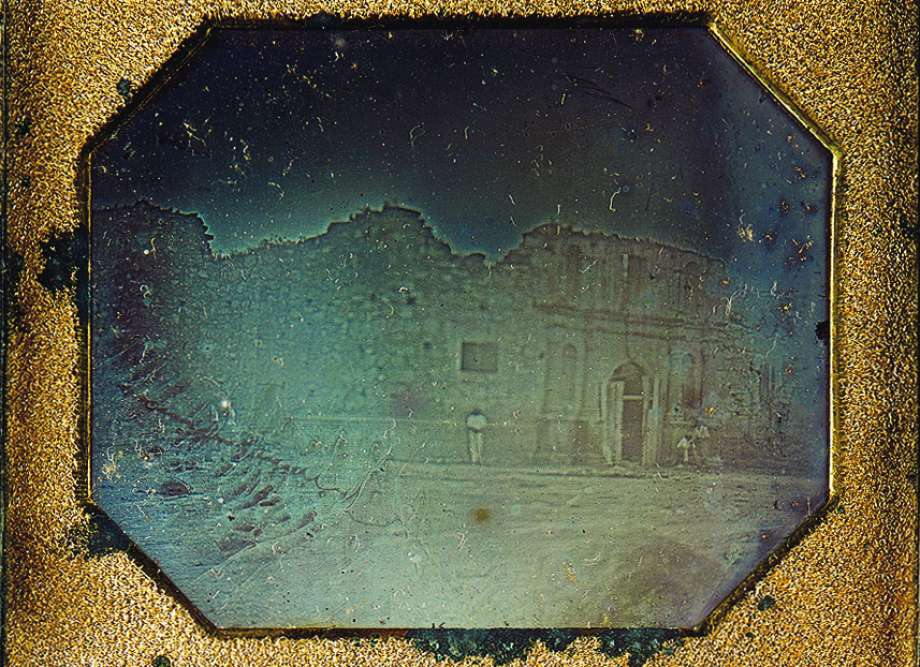 First known photo of the Alamo